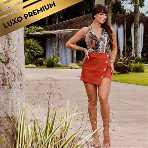 Macaquinho Feminino Tropical Fashion REF.:7475