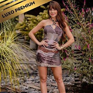 Vestido Estampado Tropical Fashion REF.:8375A