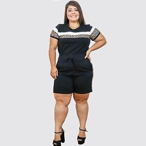 Conjunto Feminino Plus Size Evance REF.:21067EV
