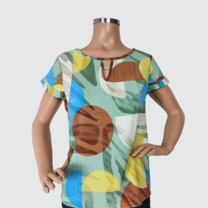 Blusa Feminina Milnebay estampada REF.:L5898