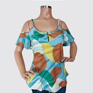 Blusa Feminina Milnebay estampada REF.:L5897