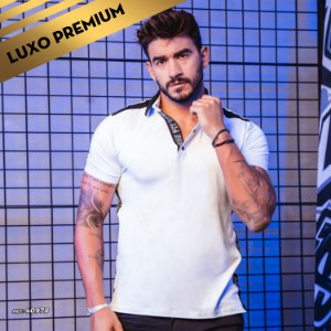 Camisa masculina Pit Bull gola polo REF.:40978