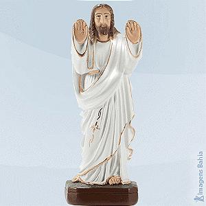 CRISTO ABENÇOANDO (Manto Branco)