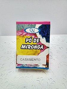 PÓ DE MIRONGA CASAMENTO