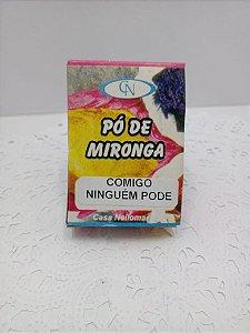 PÓ DE MIRONGA COMIGO NINGUÉM PODE