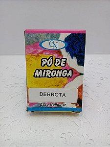 PÓ DE MIRONGA DERROTA