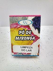 PÓ DE MIRONGA LIMPEZA DO LAR