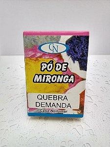 PÓ DE MIRONGA QUEBRA DEMANDA