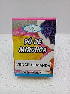 PÓ DE MIRONGA VENCE DEMANDA