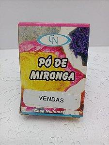PÓ DE MIRONGA VENDAS