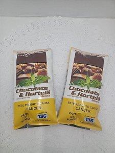 TABACO PARA CACHIMBO CHOCOLATE E HORTELÃ