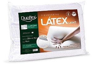 TRAVESSEIRO LATEX LIGHT DUOFLEX 50X70X16