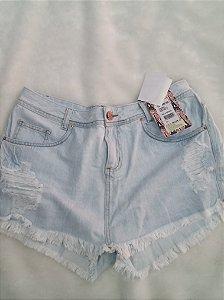 Shorts Saia Jeans S/ Lycra 092169