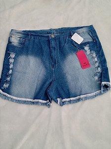 Shorts Jeans Lycra Rasgado 1063R