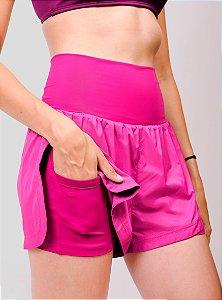 Shorts Corrida Soave Com Bermuda ROSA