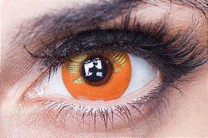 Lente de contato laranja - Coscon Orange