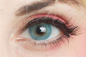 Lente de contato azul - BTS Bright Blue