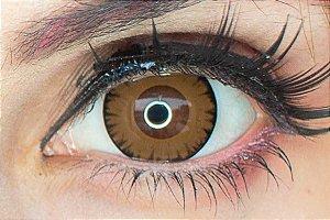 Lente de contato marrom - Wolf Brown