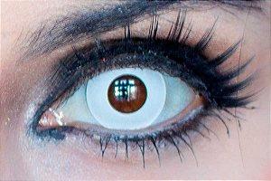 Lente de contato branca - Crazy White