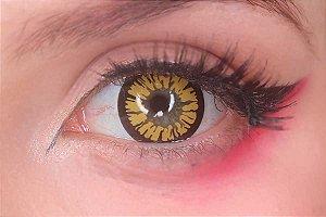 Lente de contato amarela - Amber Yellow