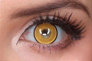 Lente de contato amarela - Manson Yellow