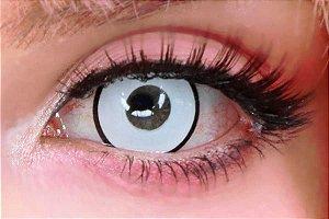 Lente de contato branca - Manson White