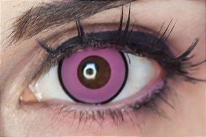 Lente de contato rosa - Manson Pink