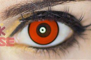 Lente de contato vermelha - Manson Red