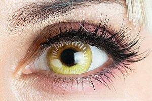 Lente de contato amarela - Coscon Yellow
