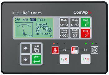 Controlador Comap InteliLite NT AMF25 - IL-NT-AMF25 - Transferência Aberta