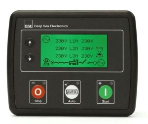 Controlador Deep Sea 4520 - Detecção Automática de Falha da rede elétrica