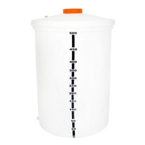 Tanque Diesel De Polietileno 500 Litros Vertical
