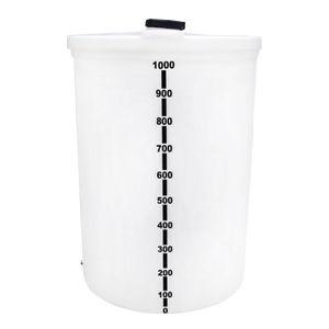 Tanque Diesel de Polietileno 1000 Litros Vertical