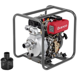 Motobomba A Diesel Branco BD-710 5.0Cv Partida Manual