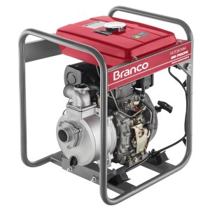 Motobomba à Diesel BD-710 5,0CV com Partida Elétrica - BRANCO