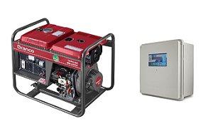 Grupo Gerador a Diesel 2.2KVA Part. Manual BD2500 Marca Branco + QTA 32A