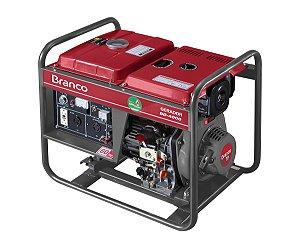 Grupo Gerador a Diesel 3.3KVA Part. Elétrica BD4000 Marca Branco