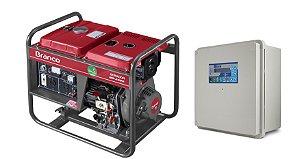 Grupo Gerador a Diesel 3.3KVA Part. Elétrica BD4000 Marca Branco + QTA 32A