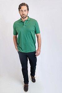 Camisa Polo Básica Verde