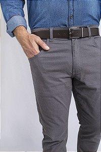 Calça Chino 5 Pockets Borelli Chumbo