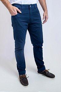 Calça Chino 5 Pockets Borelli Azul Marinho