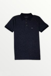 Camisa Polo  Azul Marinho Mescla
