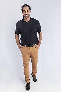Camisa Polo Básica Preta