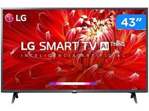 "TV 43"" LED SMART 43LM6370PSB FULL HD 3HDMI 2USB LG"