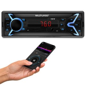 AUTO RADIO 100W RMS BLUETOOTH USB SD MP3 P3336