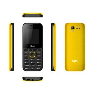 CELULAR RED MOBILE FIT MUSIC M011F PRETO E AMARELO