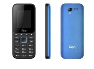 CELULAR RED MOBILE FIT MUSIC M011F PRETO E AZUL