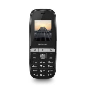 CELULAR UP PLAY P9076 DUAL CHIP MP3 PRETO