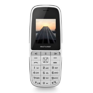 CELULAR UP PLAY P9077 DUAL CHIP MP3 BRANCO