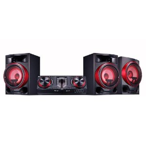 MINI SYSTEM 2250W RMS CJ88ABRALLK BLUETOOTH DUAL USB